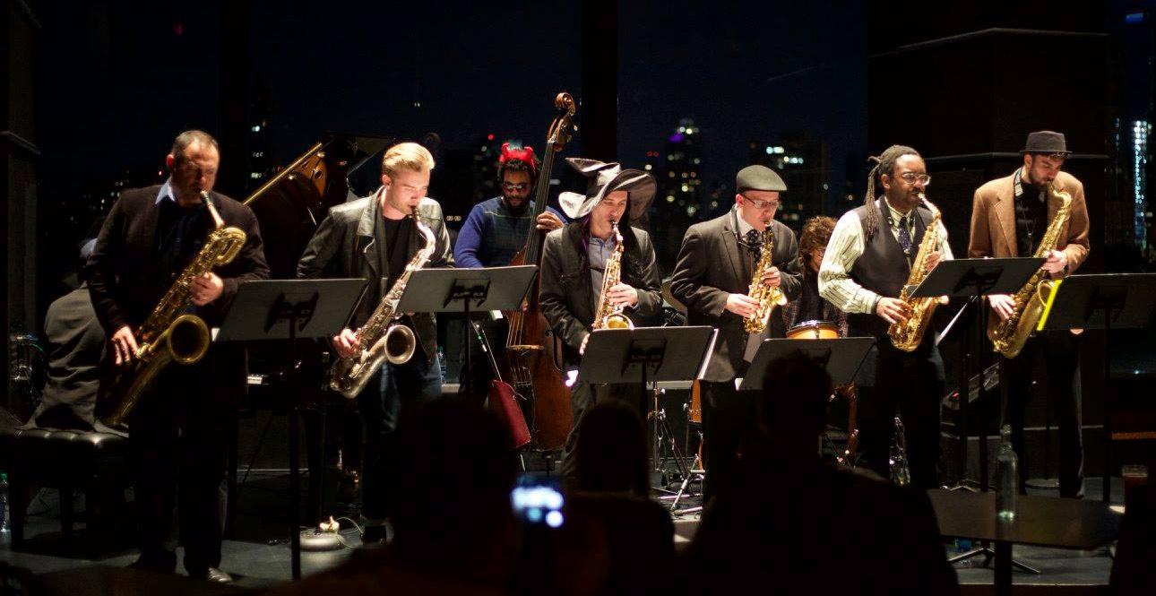 Flagship band (6 saxophones)